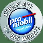Promobil Stellplatz des Monats